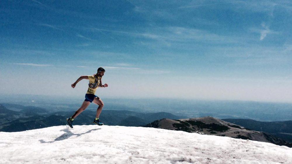 Matthias oben in den Bergen