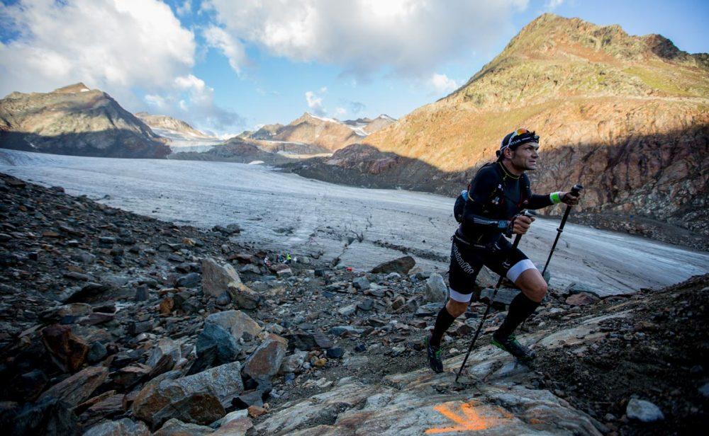 Sonnenaufgang am Gletscher. Ein imposantes Erlebnis.