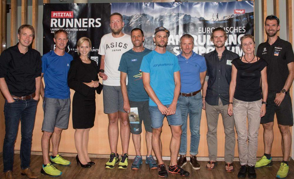 Teilnehmer des Trailrunning-Symposiums