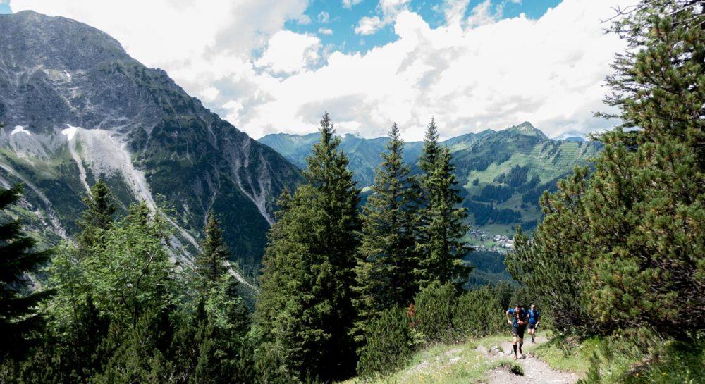 Uphill im Kleinwalsertal