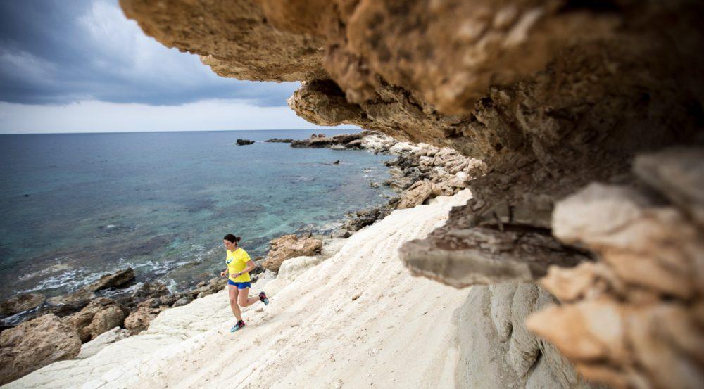 Nicole beim Shooting an der Küste