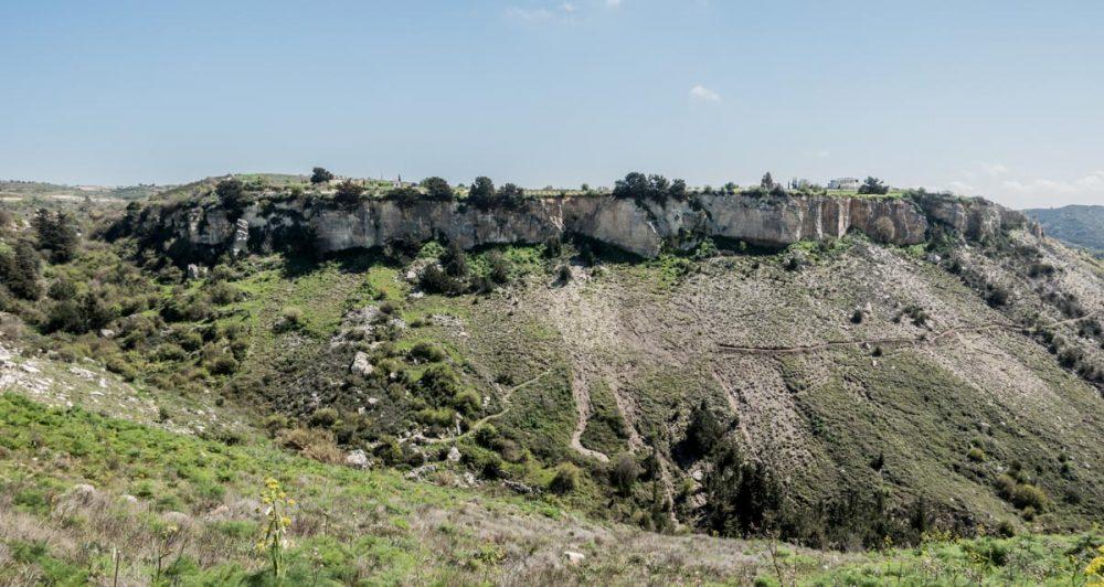 Wähhrend meines Longrun im Hinterland von Paphos.