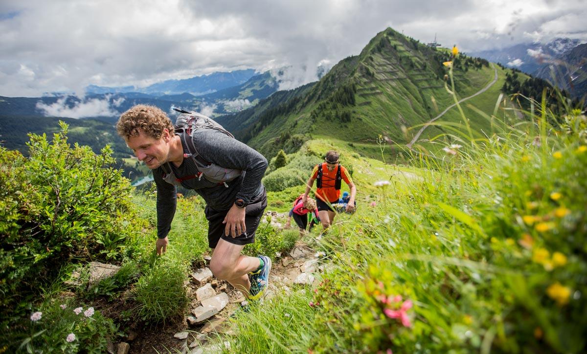 Trailrunning-Camp im Kleinwalsertal mit Trampelpfadlauf 2017