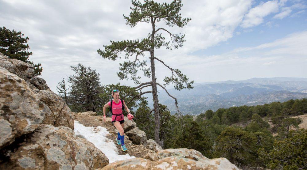 Thea auf dem Trail rund um den Mt. Olympus