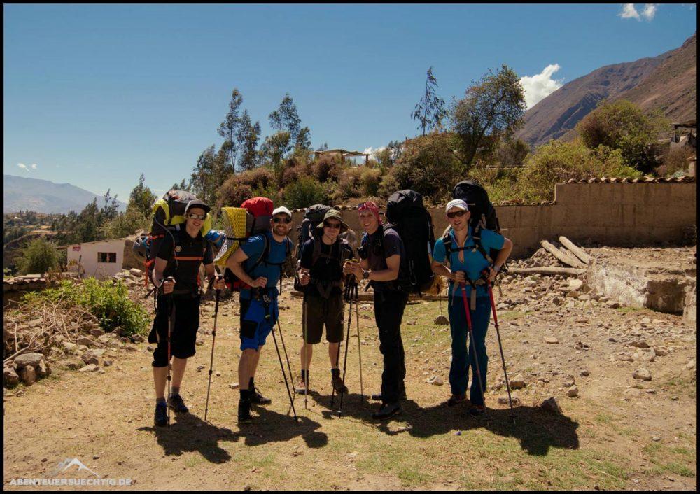 Das Team des Cordillera Blanca Abenteuers