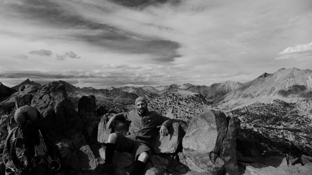Björn auf dem John-Muir-Trail