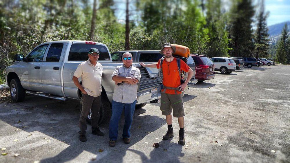 Die Helfer am John-Muir-Trail