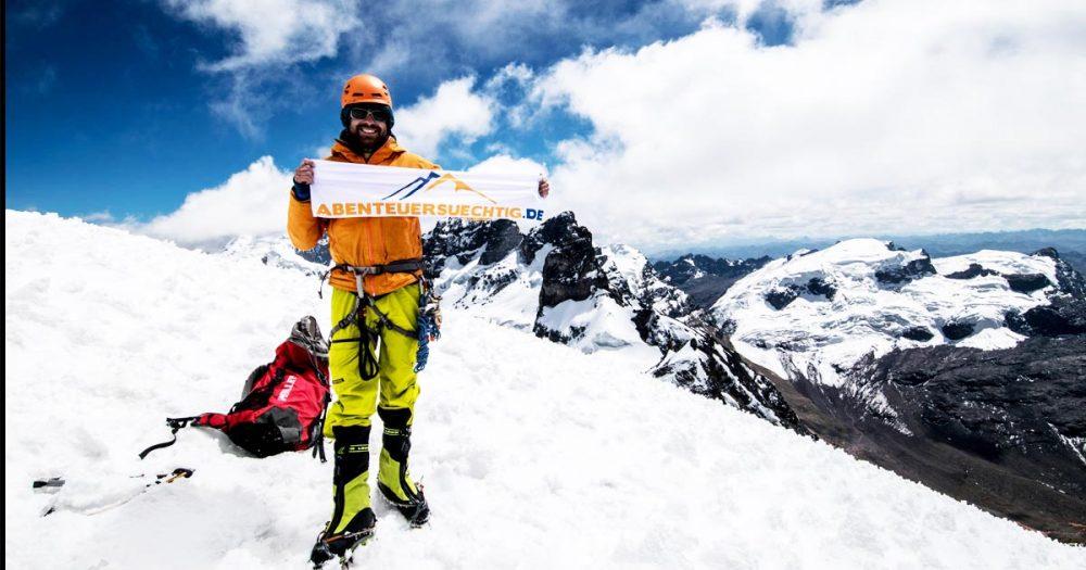 025: Florian Schupp – Klettern in der Cordillera Blanca (Peru) und Höhenkrankheit