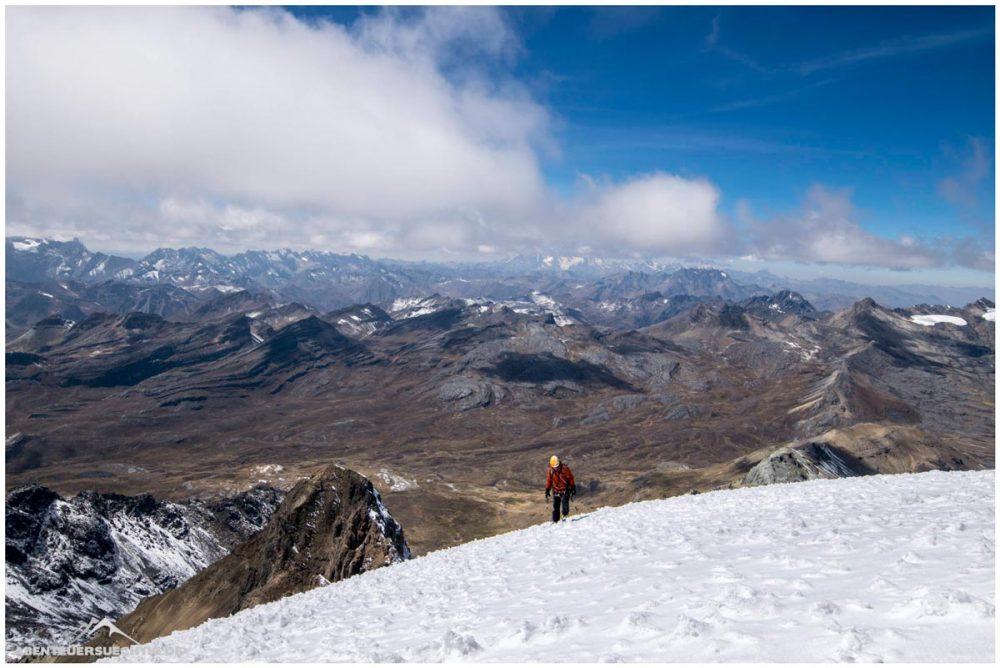 Weite Blicke in der Cordillera Blanca