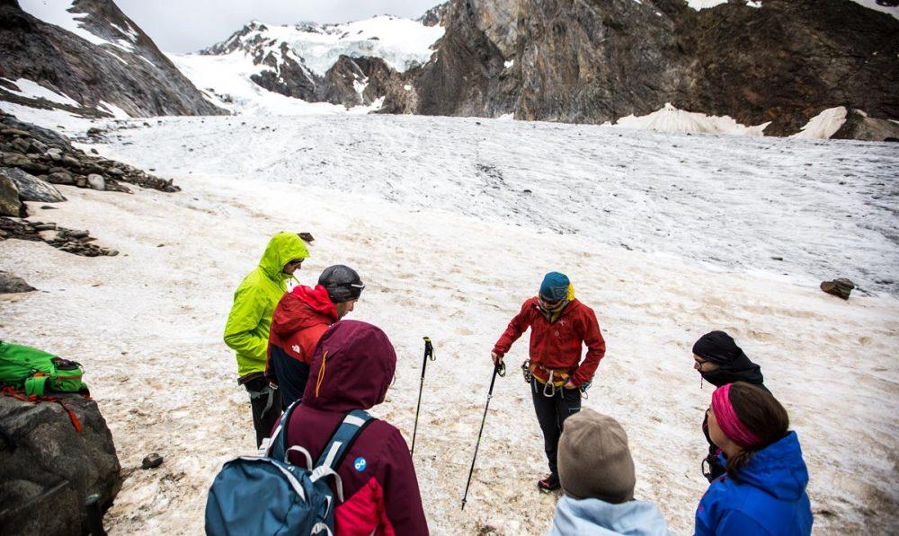 Gletscherkunde mit Bergführer Sebi