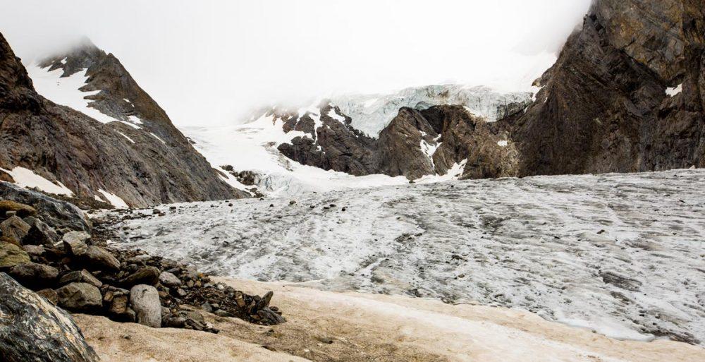 Imposante Gletscherwelt