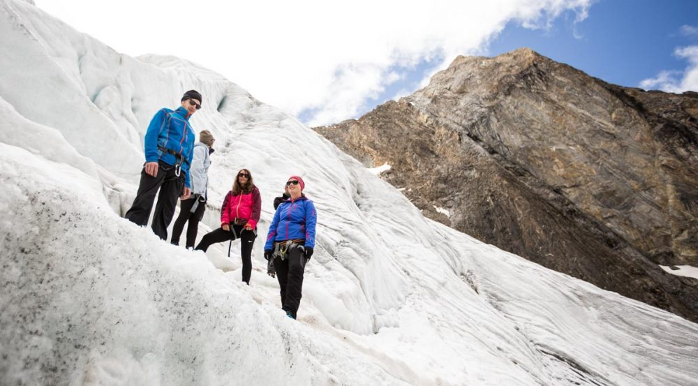 Im Gletscherbruch