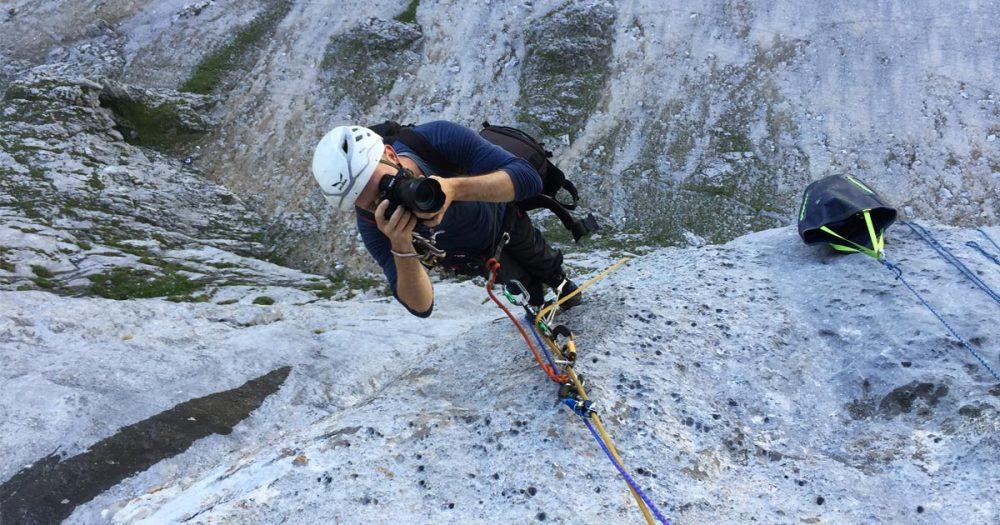 """035: Frank Kretschmann – DER Kletterfotograf. """"Wenn du denkst es ist vorbei, zähl bis 10"""""""