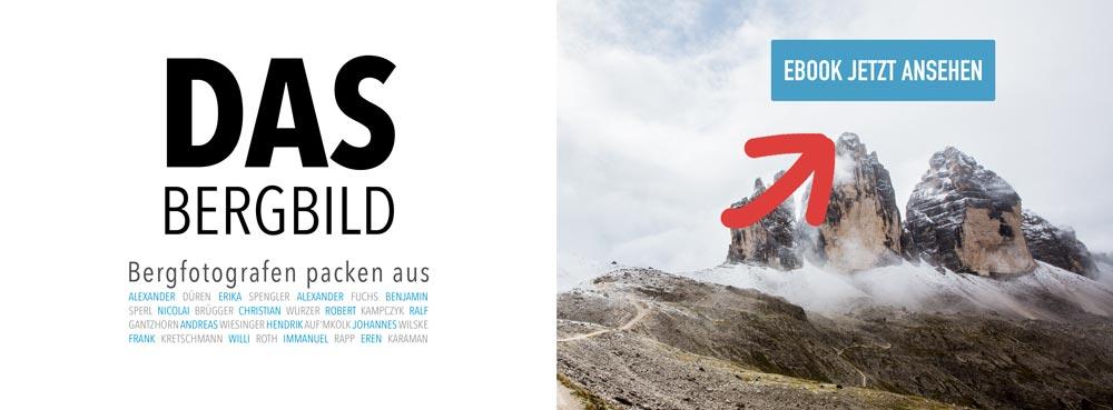 DAS Bergbild - Fotografen gefragt (Buch)