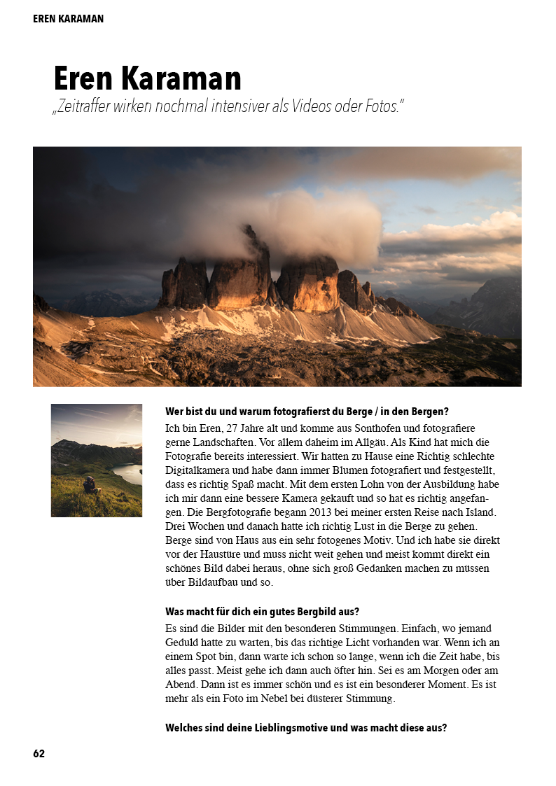 DAS Bergbild Vorschau (Eren Karaman)