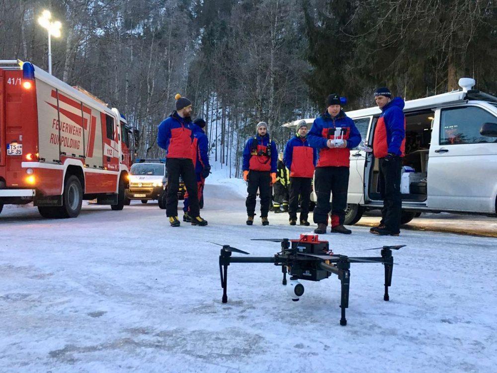 Die Drohne der Bergwacht
