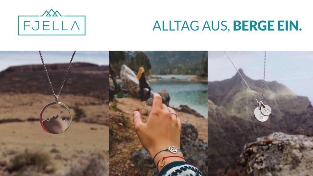 Schmuck für Bergliebhaber von FJELLA | Moderner Bergschmuck