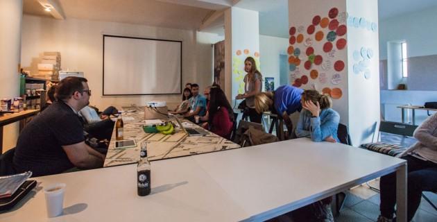 Workshop mit Katja von SunnyOffice
