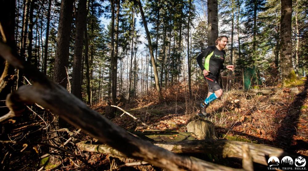 Das dritte Mal Uphill im Wald